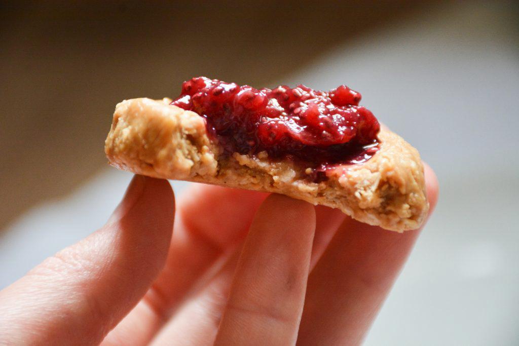 cherry-peanut-butter-thumbprint-cookies-no-bake-2