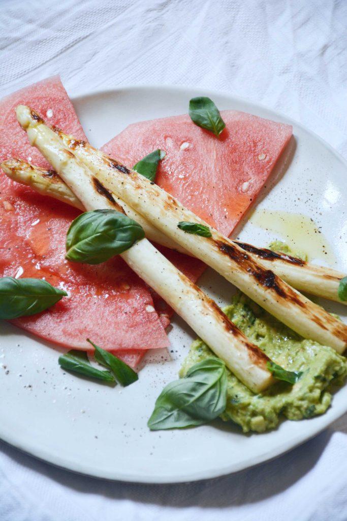 watermelon-avocado-asparagus-carpaccio