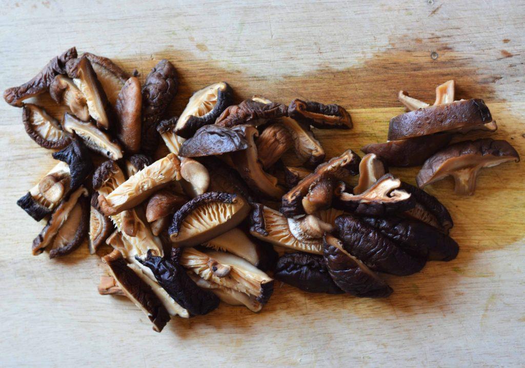 shiitake-mushrooms-congee-rice
