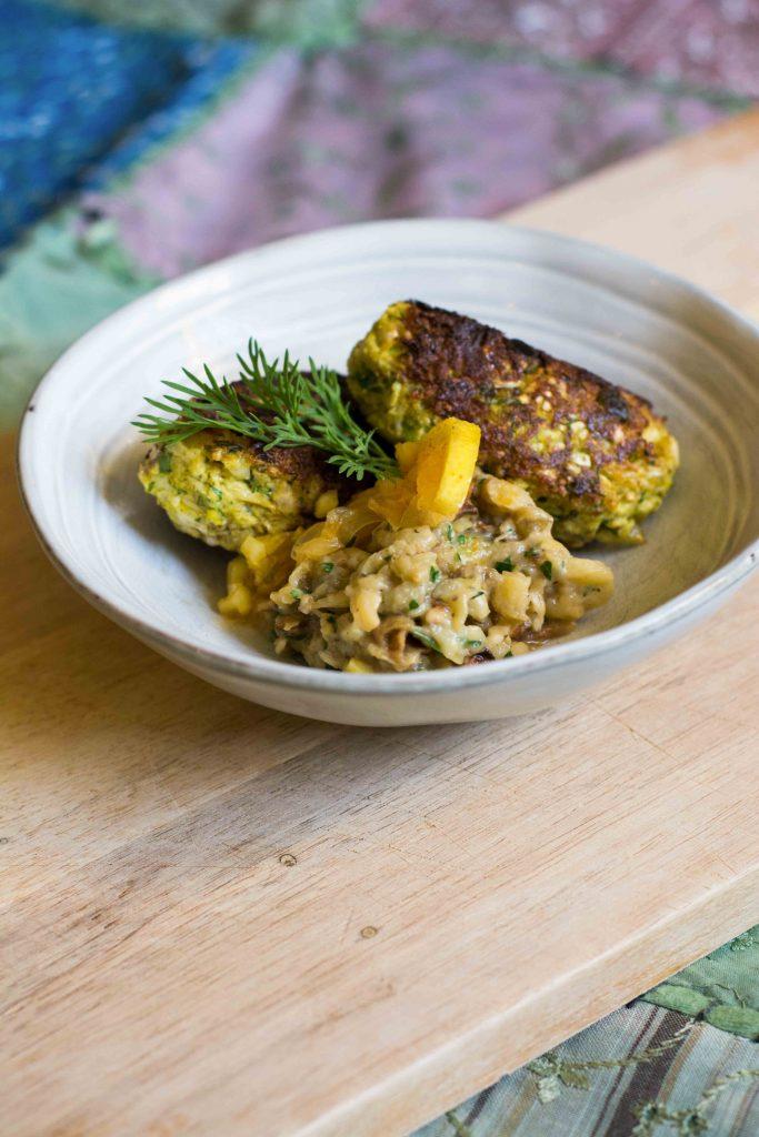 vegan-fish-kebabs-cauliflower-artichoke