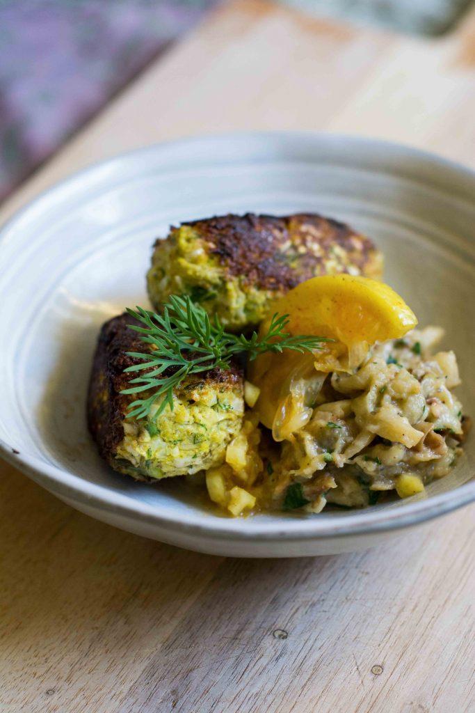 vegan-fish-kebabs-cauliflower-eggplant